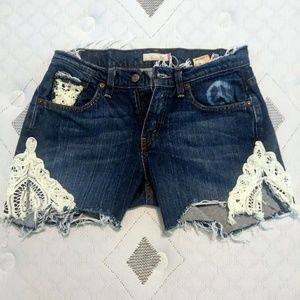 Recrafted Levi Shorts